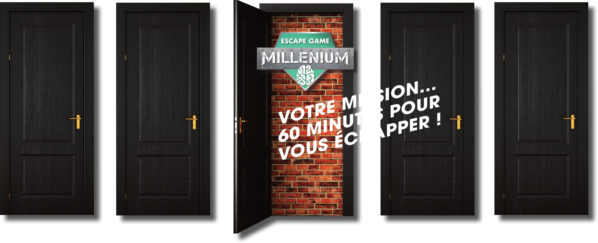 portes escape game millenium Chambly